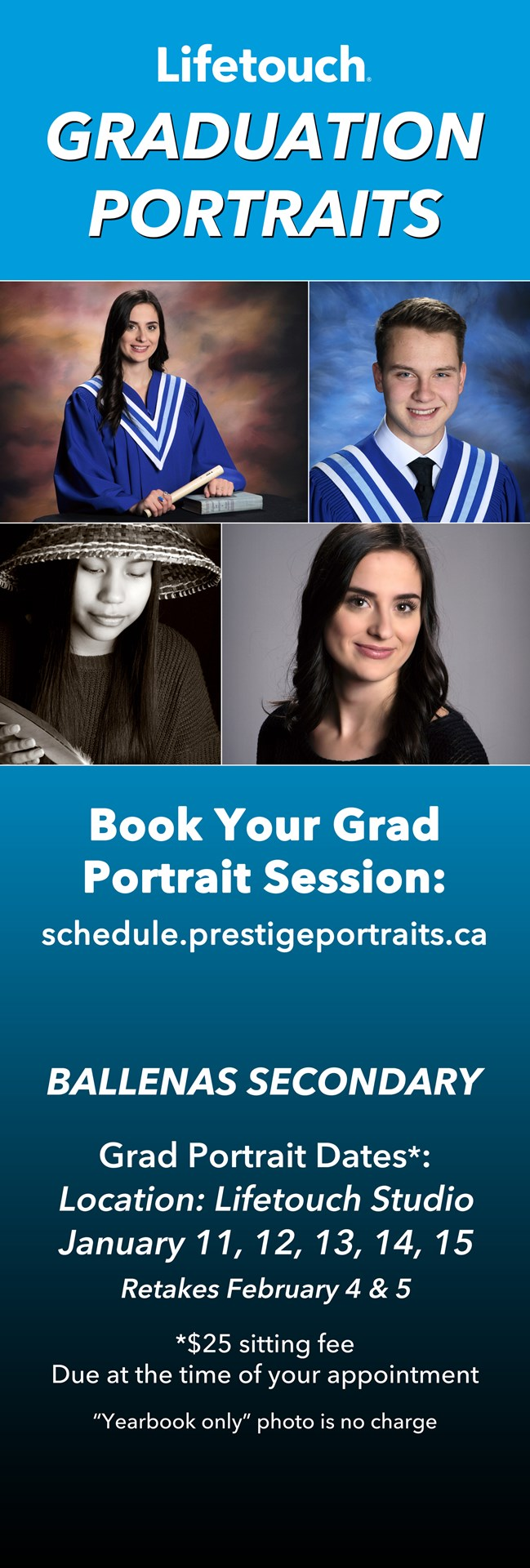 Grad Photos at Lifetouch