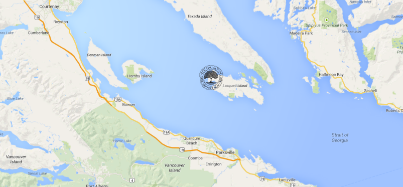 False Bay School is Located on Lasqueti Island